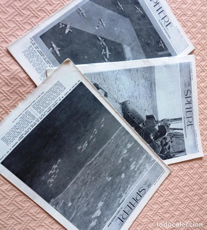 3 REVISTA THE SPHERE- SERIE GUERRA MUNDIAL- AÑO 1944- (Coleccionismo - Revistas y Periódicos Modernos (a partir de 1.940) - Otros)