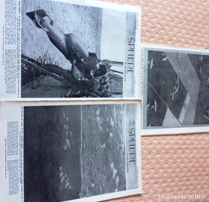 Coleccionismo de Revistas y Periódicos: 3 Revista THE SPHERE- Serie Guerra Mundial- Año 1944- - Foto 2 - 212467285