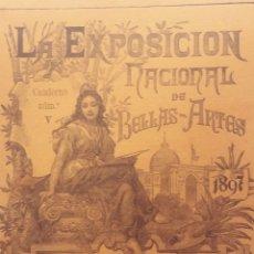 Coleccionismo de Revistas y Periódicos: LA EXPOSICIÓN NACIONAL DE BELLAS ARTES. 1897. NÚMERO V.. Lote 212640287