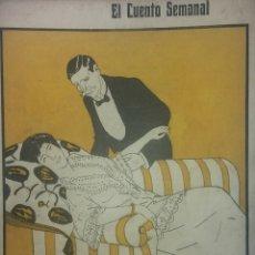 Coleccionismo de Revistas y Periódicos: EL CUENTO SEMANAL. 12 DE ENERO DE 1912. Lote 212643232