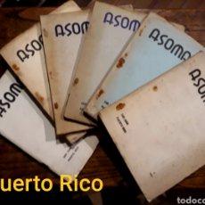 Coleccionismo de Revistas y Periódicos: 6 REVISTAS ASOMANTE DE PUERTO RICO. J R JIMÉNEZ, FCO. AYALA, GUILLERMO DE TORRE, VICTORIA OCAMPO,. Lote 212737178