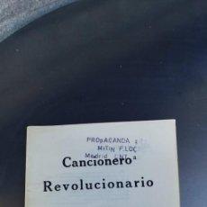 Coleccionismo de Revistas y Periódicos: CANCIONERO REVOLUCIONARIO,ESPAÑA 1977,CONFEDERACION NACIONAL DEL TRABAJO,31 PAGINAS. Lote 212797655