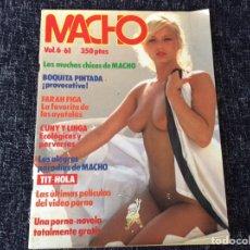 Coleccionismo de Revistas y Periódicos: MACHO -VOL. 5 Nº 61 LINDY BENSON, MARIE HARPER, BEATRIZ ESCUDERO. Lote 288979563