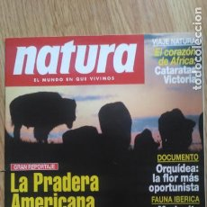 Coleccionismo de Revistas y Periódicos: REVISTA NATURA. AÑO 1995.. Lote 213066571
