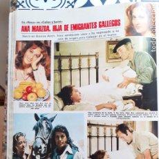 Coleccionismo de Revistas y Periódicos: ANA MARZOA SANCHO GRACIA CURRO JIMENEZ CAÑAS Y BARRO. Lote 249249085
