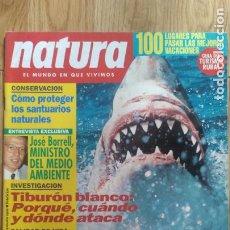 Coleccionismo de Revistas y Periódicos: REVISTA NATURA. AÑO 1992. (7). Lote 213077177