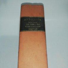 Coleccionismo de Revistas y Periódicos: ANTOLOGIA DELS FETS, LES IDEES I ELS HOMES D' OCCIDENT 12 NUM. COMPLET 1947-1948 ENCUADERNADO. Lote 213289998