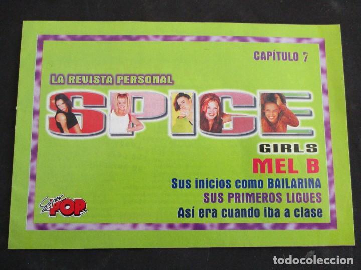 SUPER POP REVISTA PERSONAL SPICE GIRS CAPITULO Nº 7 MEL B (Coleccionismo - Revistas y Periódicos Modernos (a partir de 1.940) - Otros)