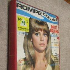 Coleccionismo de Revistas y Periódicos: FOTONOVELAS ROMPEOLAS, FRENESÍ, BONITA, CORIN TELLADO, MABEL, TENTACIÓN, RARAS, 1967 ROCÍO DÚRCAL. Lote 213483721