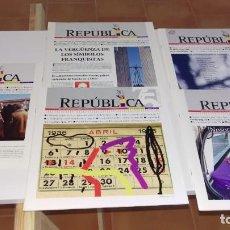 Coleccionismo de Revistas y Periódicos: REVISTAS ATENEO REPUBLICANO VALLADOLID. Lote 213608278