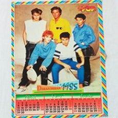 Coleccionismo de Revistas y Periódicos: POSTER SUPER POP ORIGINAL, AÑO 1985. DURAN DURAN Y AL REVERSO MICHAEL JACKSON. Lote 213770550