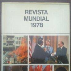 Coleccionismo de Revistas y Periódicos: REVISTA MUNDIAL 1978. Lote 213772838