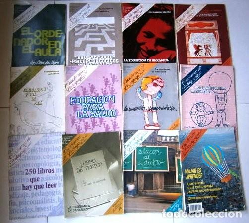 LOTE DE 15 REVISTAS CUADERNOS DE PEDAGOGÍA DE LOS AÑOS 1983-1991 (Coleccionismo - Revistas y Periódicos Modernos (a partir de 1.940) - Otros)