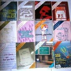 Coleccionismo de Revistas y Periódicos: LOTE DE 15 REVISTAS CUADERNOS DE PEDAGOGÍA DE LOS AÑOS 1983-1991. Lote 212492681