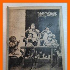 Colecionismo de Revistas e Jornais: ALREDEDOR DEL MUNDO Nº 671 10 ABRIL 1912 - FOTOGRAFÍA Y OCULTISMO; LOS ÑAM-ÑAM; ESCUELAS MONTESSORI. Lote 213805058