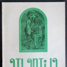 Coleccionismo de Revistas y Periódicos: GALICIA.CORUÑA. REVISTA 'ATLANTIDA' Nº 13 Y ULTIMO (ENERO-FEBRERO 1956) ESPECIAL VALLE-INCLAN. Lote 213823976