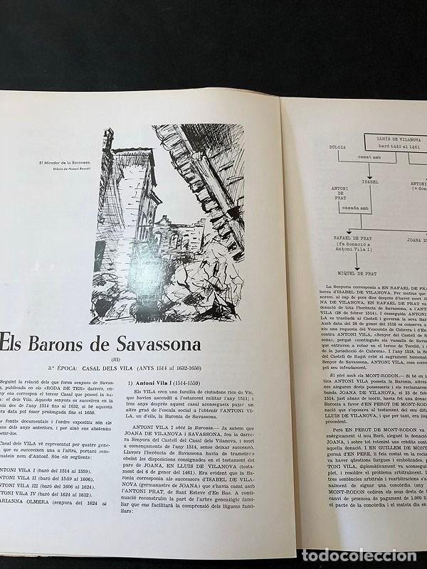 Coleccionismo de Revistas y Periódicos: REVISTA - RODA DE TER / ESPECIAL FIESTA MAYOR 1967 / VERGE DEL SOL DEL PONT / BARCELONA - Foto 4 - 213896795