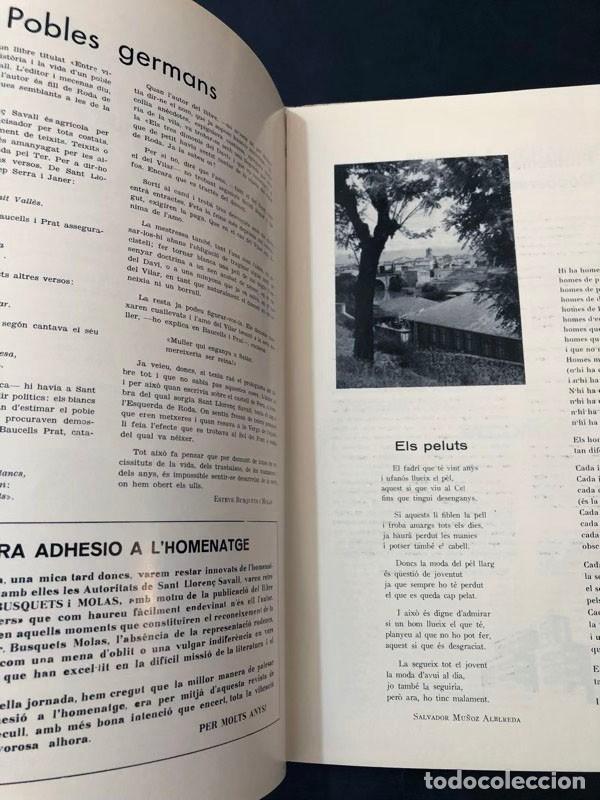 Coleccionismo de Revistas y Periódicos: REVISTA - RODA DE TER / ESPECIAL FIESTA MAYOR 1967 / VERGE DEL SOL DEL PONT / BARCELONA - Foto 5 - 213896795