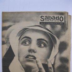 Coleccionismo de Revistas y Periódicos: SÁBADO GRÁFICO - AÑO III - Nº 110 - EMOCIÓN ANTE EL NUEVO PAPA - NOVIEMBRE DE 1958.. Lote 214011478