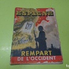 Coleccionismo de Revistas y Periódicos: REVISTA FRANCESA, 1937, GUERRA CIVIL ESPAÑOLA, NÚMERO ESPECIAL FRONTIERES. Lote 214015036
