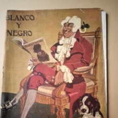 Coleccionismo de Revistas y Periódicos: (CON ÍNDICE) BLANCO Y NEGRO 6 JULIO 1919 N 1.468. Lote 214045458
