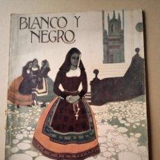 Coleccionismo de Revistas y Periódicos: ( CON ÍNDICE) BLANCO Y NEGRO 1 ABRIL 1923 N 1.663. Lote 214046620