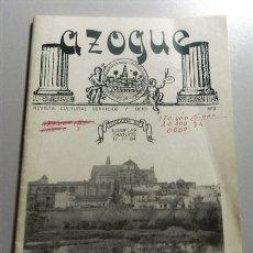 Coleccionismo de Revistas y Periódicos: AZOGUE : REVISTA CULTURAL SERVICIOS Y OCIO. Nº 0 ; 17 NOVIEMBRE 1984. Lote 214115970