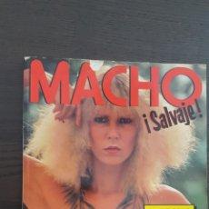 Coleccionismo de Revistas y Periódicos: REVISTA - ESPECIAL MACHO Nº 1 - ¡SALVAJE!. MUCHAS FOTOS, POCO TEXTO. Lote 214179691
