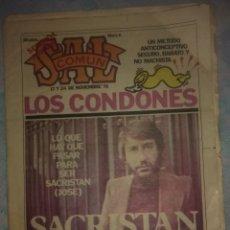 Coleccionismo de Revistas y Periódicos: SAL COMÚN Nº 6. NOVIEMBRE 78. Lote 214230247