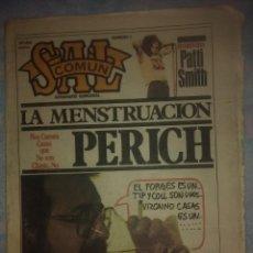Coleccionismo de Revistas y Periódicos: SAL COMÚN Nº 7 ESPECIAL. NOVIEMBRE- DICIEMBRE 78. Lote 214230287