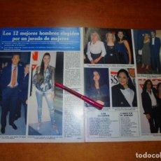 Coleccionismo de Revistas y Periódicos: CLIPPING 1995: VALDANO, JUNCAL RIVERO, MISS MARÍA REYES, SOFÍA MAZAGATOS, ARANCHA DEL SOL, TIZIANA C. Lote 214230782