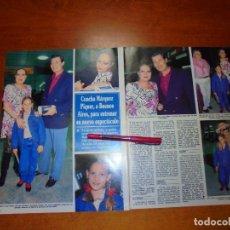 Coleccionismo de Revistas y Periódicos: CLIPPING 1995: CONCHA MARQUEZ PIQUER, RAMIRO OLIVEROS, LUISA MORA. PUBLICIDAD TELE 5 GOYO GONZÁLEZ.. Lote 214230817