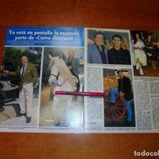 Coleccionismo de Revistas y Periódicos: CLIPPING 1995: CURRO JIMENEZ, SANCHO GRACIA, ALVARO DE LUNA, JORGE SANZ, TONY ISBERT, EDUARDO GARCÍA. Lote 214230856