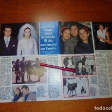 Coleccionismo de Revistas y Periódicos: CLIPPING 1995: CARMEN ORDÓÑEZ, PAQUIRRI. (CAPÍTULO 1). Lote 214231185