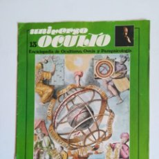 Coleccionismo de Revistas y Periódicos: REVISTA UNIVERSO OCULTO 13 ENCICLOPEDIA DE OCULTISMO OVNIS PARAPSICOLOGIA DR JIMENEZ DEL OSO 1976. Lote 214292485