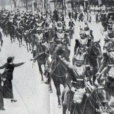Coleccionismo de Revistas y Periódicos: PARIS 1914 DESPEDIDA A UN REGIMIENTO 2 HOJAS REVISTA. Lote 214360715