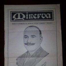 Coleccionismo de Revistas y Periódicos: REVISTA MINERVA - AÑO IV - Nº 46 - OCTUBRE 1929. Lote 214573862
