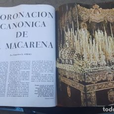 Coleccionismo de Revistas y Periódicos: REVISTA AÑOS 60 CON REPORTAJE CORONACION CANONICA DE LA VIRGEN DE LA MACARENA , SEMANA SANTA SEVILLA. Lote 214596713