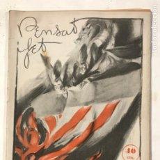 Coleccionismo de Revistas y Periódicos: PENSAT I FET MARÇ 1935 NUMERO 29. FALLAS. REVISTA FALLERA. Lote 214622921