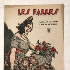 Coleccionismo de Revistas y Periódicos: LES FALLES 22 FEBRER DE 1933 FALLAS. REVISTA FALLERA. Lote 214627235