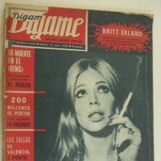 Coleccionismo de Revistas y Periódicos: REVISTA DIGAME Nº 1569 - 27 DE ENERO DE 1970 JULIO IGLESIAS. Lote 214757185
