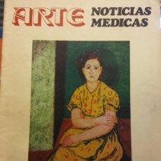 Coleccionismo de Revistas y Periódicos: ARTE. NOTICIAS MÉDICAS. ENERO 1976. BENJAMÍN PALENCIA. CINCUENTA AÑOS DE PINTURA. ARTE CONCEPTUAL. Lote 214885213