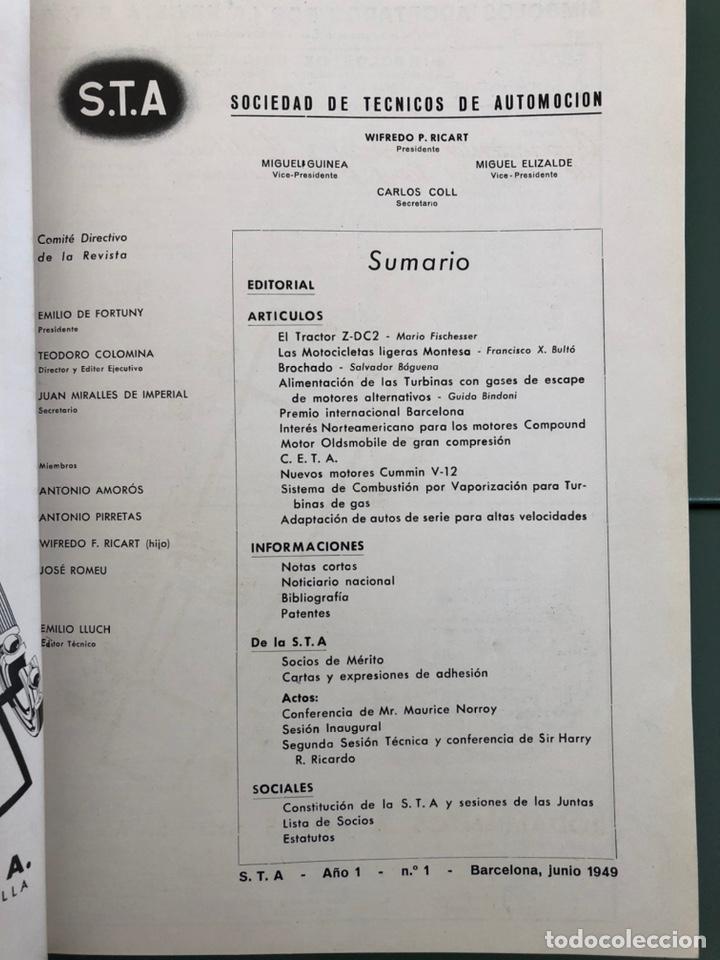 Coleccionismo de Revistas y Periódicos: Revista STA Numero 1 Año 1 - Foto 5 - 215014325