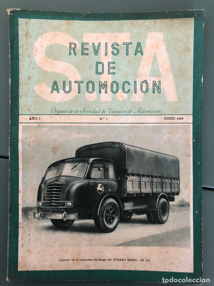 REVISTA STA NUMERO 1 AÑO 1 (Coleccionismo - Revistas y Periódicos Modernos (a partir de 1.940) - Otros)