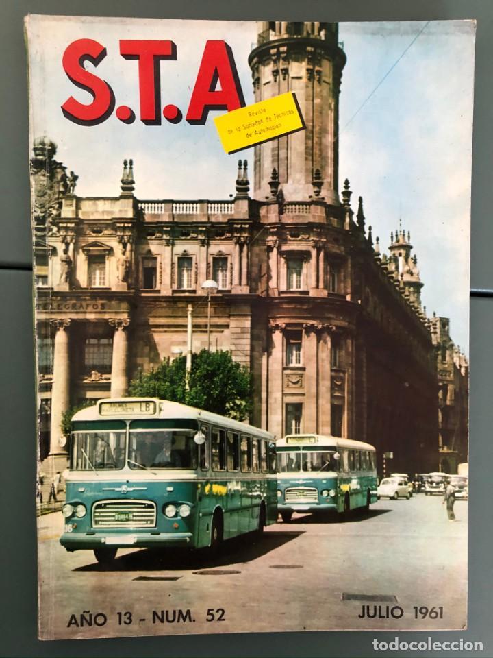 REVISTA STA AÑO 13 NUM. 52 JULIO 1961 (Coleccionismo - Revistas y Periódicos Modernos (a partir de 1.940) - Otros)
