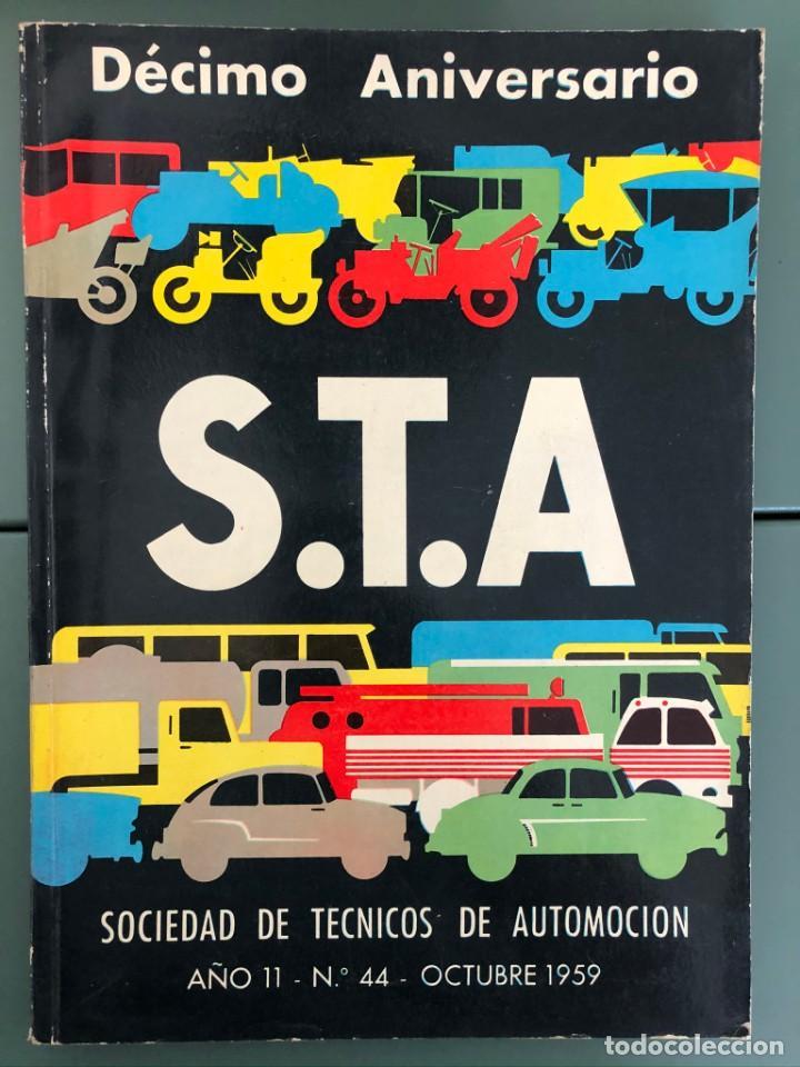 REVISTA STA AÑO 11 NUM. 44, OCTUBRE 1959 (Coleccionismo - Revistas y Periódicos Modernos (a partir de 1.940) - Otros)