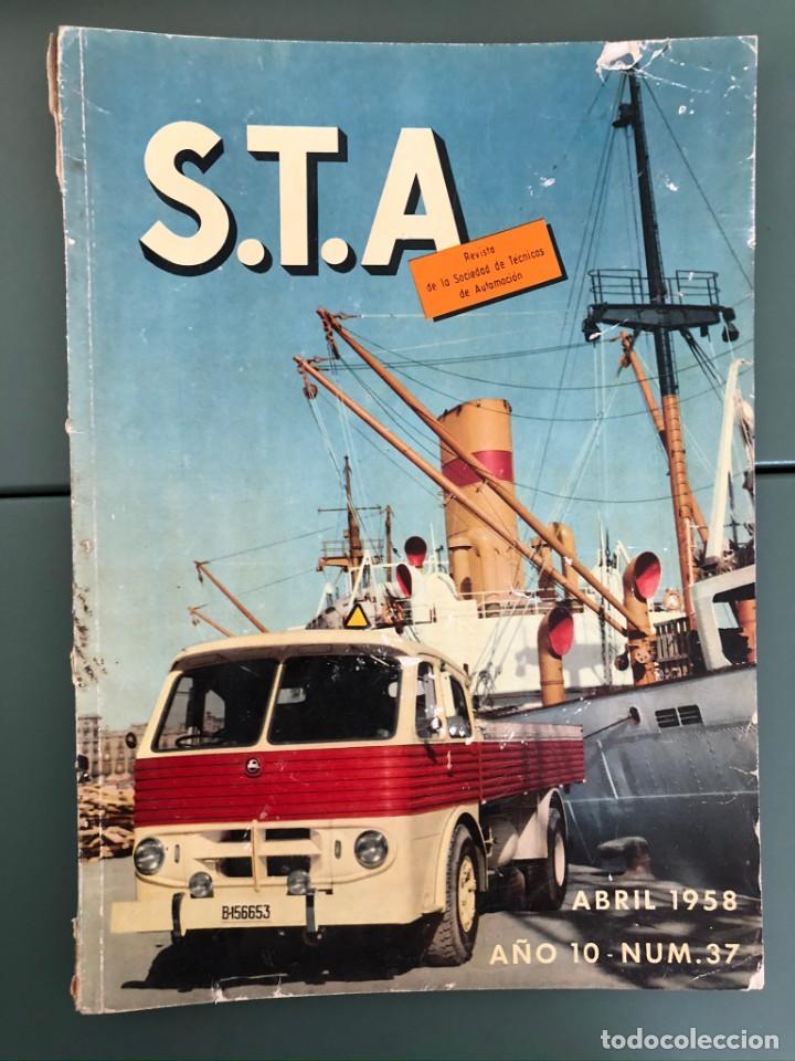 REVISTA STA AÑO 10 NUM 37, ABRIL 1958 PEGASO EN PORTADA (Coleccionismo - Revistas y Periódicos Modernos (a partir de 1.940) - Otros)