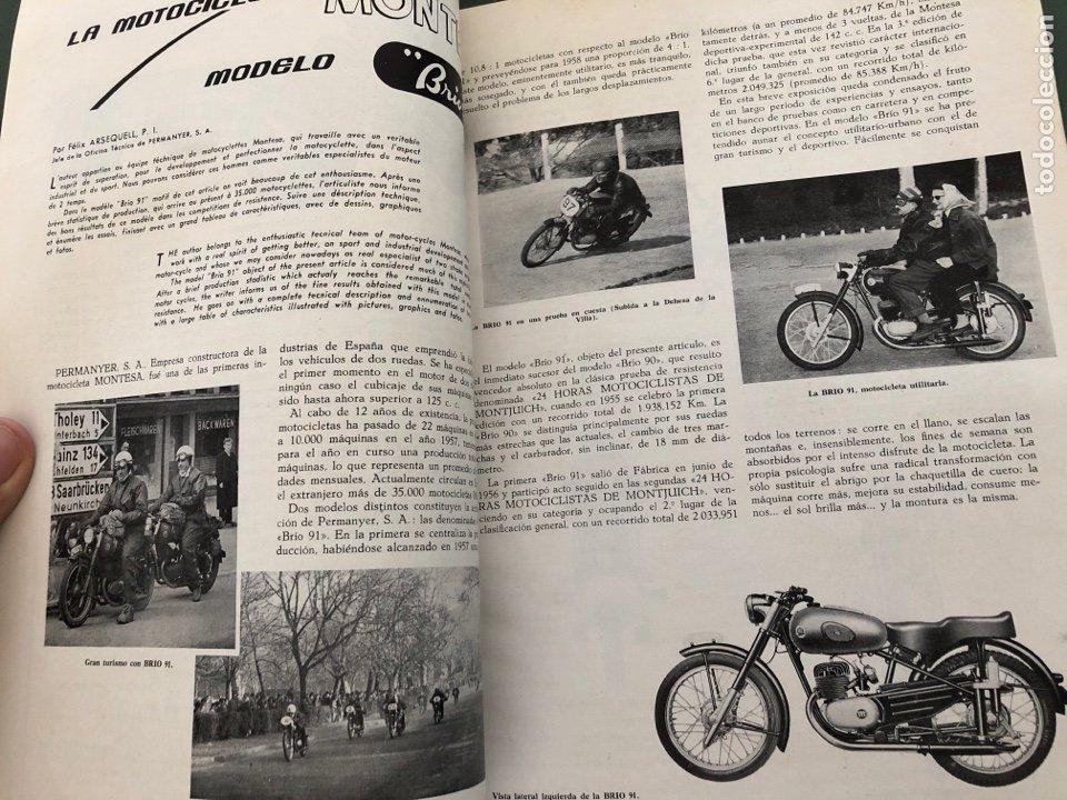Coleccionismo de Revistas y Periódicos: Revista STA Año 10 Num 37, Abril 1958 Pegaso en portada - Foto 3 - 215015797
