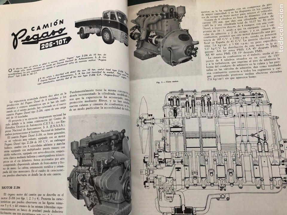 Coleccionismo de Revistas y Periódicos: Revista STA Año 10 Num 37, Abril 1958 Pegaso en portada - Foto 4 - 215015797