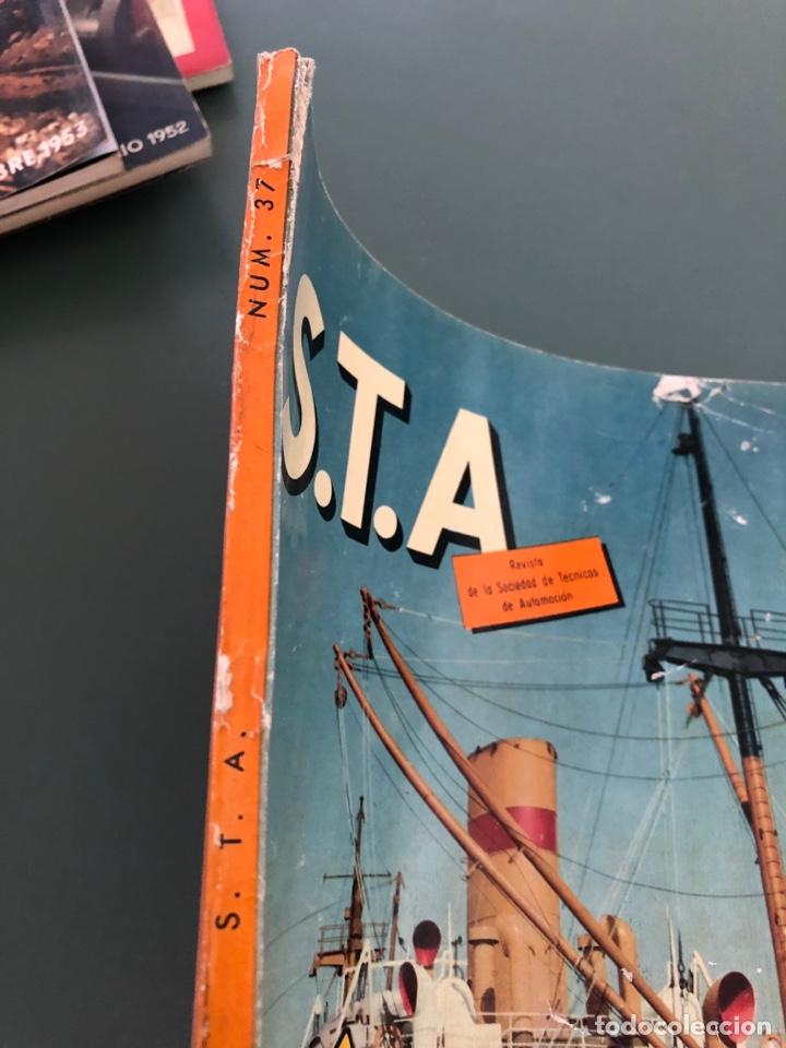 Coleccionismo de Revistas y Periódicos: Revista STA Año 10 Num 37, Abril 1958 Pegaso en portada - Foto 6 - 215015797